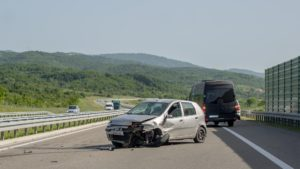 Unfallquelle mangelnder Abstand zum Vordermann