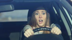 Reaktionszeit nicht unterschaetzen Unfall im Strassenverkehr