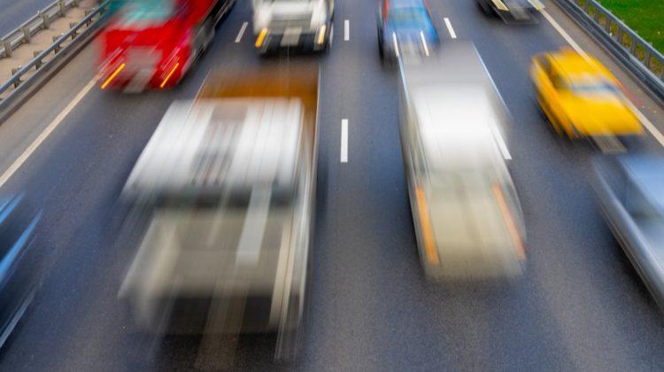 Abstandsverstoß auf der Autobahn